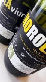 Sellos de la D.O.Ca. Rioja del 2015 y el 2016.
