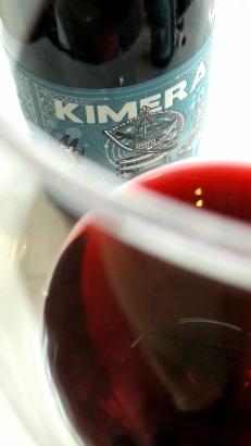 Detalle del color del vino Kimera.