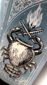 Detalle de la tinaja de barro en la etiqueta del vino Kimera.