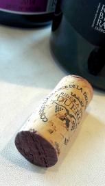 El tapón de corcho del vino Milvus Edición Especial.