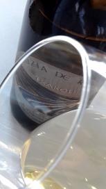Ribete del vino Luzia de Ripa 2014.