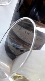 Ribete del vino Luzia de Ripa 2016.