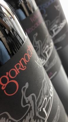 Las etiquetas de los vinos de Basilio Berisa.