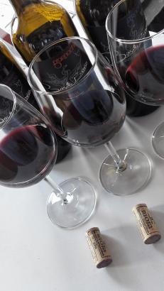 Los tres vinos de Basilio Berisa.
