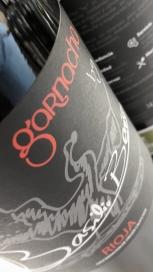 Etiqueta del vino Basilio Berisa Garnacha.