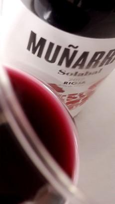 Detalle del vino Muñarrate Tinto 2017.