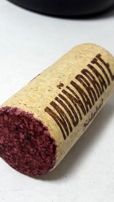Tapón de corcho del vino Muñarrate Tinto 2017.