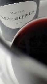 Color del vino Massuria 2010.