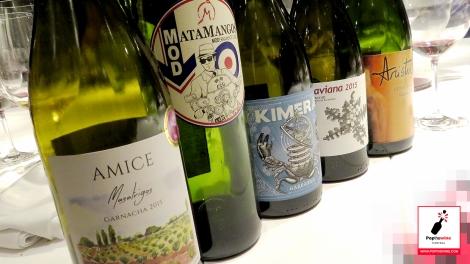 maridaje_garnacha_y_caza_botellas_de_vino