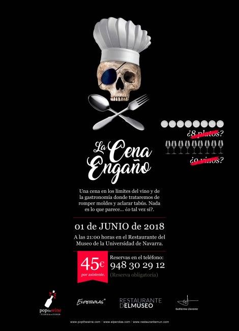 cartel_la_cena_engano