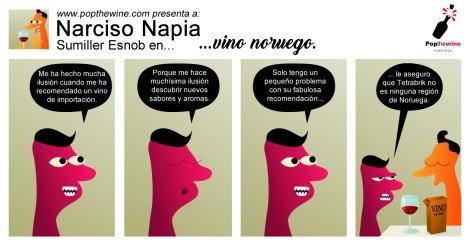 narciso_napia_en_vino_noruego