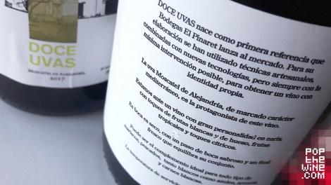 doce_uvas_el_pinaret_contra_etiqueta_botella