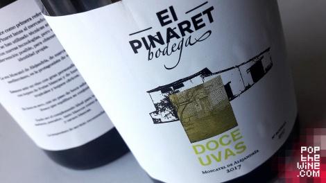 doce_uvas_el_pinaret_etiqueta_botella