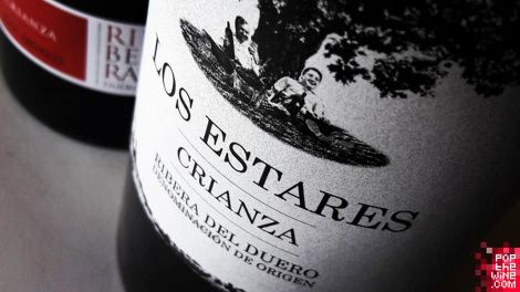 los_estares_crianza_etiqueta_botella_vino
